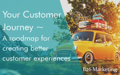 Your Customer Journey – A roadmap for creating better customer experiences