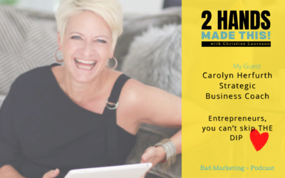 Episode 15 – Entrepreneurs, You Can't Skip THE DIP with Carolyn Herfurth