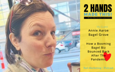 Episode 16 – How a Booming Bagel Biz Bounced Back After The Pandemic with Annie Aaroe