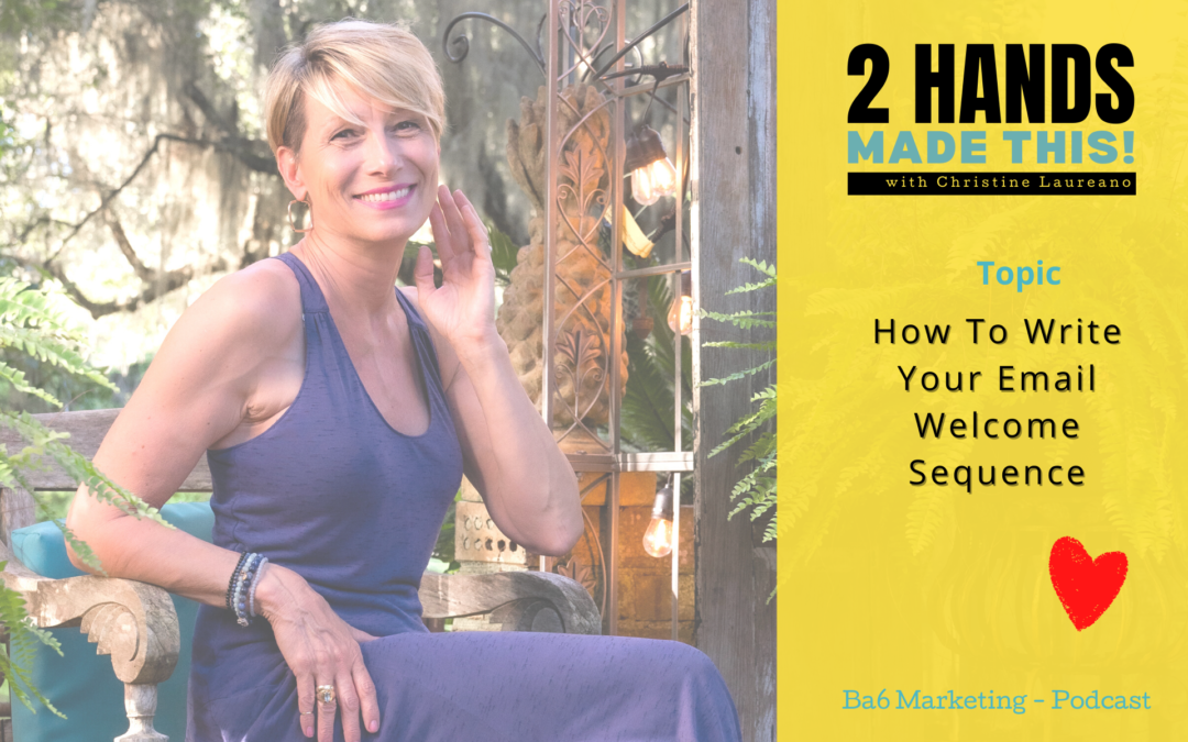 Episode 26 – Writing Your Email Welcome Sequence